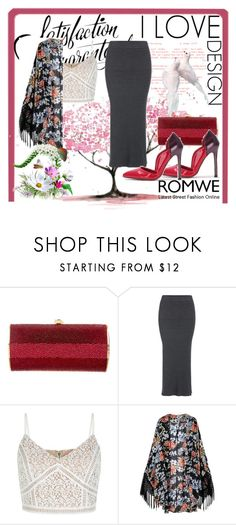 """""""Romwe 9"""" by dinka1-749 ❤ liked on Polyvore featuring Kathrine Baumann and New Look"""