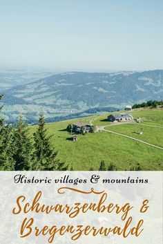 A visual tour through a picturesque village in Bregenzerwald/Vorarlberg (Austria) with great views of the alps Historic Homes, Great View, Alps, Austria, Countryside, Travel Inspiration, Scenery, Tours, Mountains