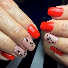 Having short nails is extremely practical. The problem is so many nail art and manicure designs that you'll find online Cute Nail Art Designs, Fall Nail Designs, Simple Nail Designs, Cute Short Nails, Short Nails Art, Cute Nails, Nail Manicure, Diy Nails, Art Simple