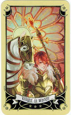 Manga, Knight Of Wands, Deviantart, Pentacle, Tarot Decks, Tarot Cards, Mystic, Symbols, Fictional Characters