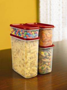 Amazon.com: Rubbermaid 1776474 8-Pc. Modular Canisters Food System: Food Storage Containers: Home & Kitchen