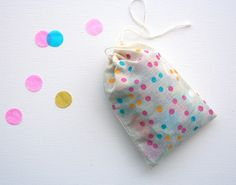 packaging ideas, dotty bags
