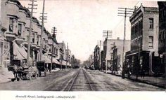 Seventh Street, Rockford, IL.  Looks a little different now.