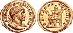 Caracalla. AD 198-217. AV Aureus (21mm, 6.34 g, 12h). Rome mint. Struck AD 217.