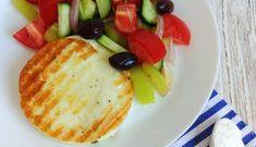 Brânză halloumi la grătar Low Carbon, Halloumi, Lchf, Breakfast, Food, Morning Coffee, Essen, Meals, Yemek