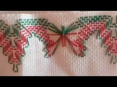 Satin Flowers for Towels Model 161 Part 3 – Free Online Videos Best Movies TV shows – Faceclips Source Swedish Weaving Patterns, Swedish Embroidery, Crochet Mat, Beaded Crafts, Satin Flowers, Hand Embroidery Patterns, Needlework, Crafts For Kids, Projects To Try