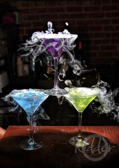 Smoking Martinis