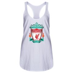 Liverpool Crest Women's Racerback Tank Top   $24.99   Holiday Gift & Stocking Stuffer ideas for the Liverpool FC fan at WorldSoccerShop.com