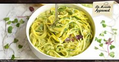 While this Zingy Zucchini Noodles With Creamy Avocado Pesto recipe isn't your typical pasta dish, it's sure to be a crowd pleaser.