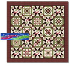 Lilac Bouquets - pattern and fabric by Debbie Beaves for Maywood ... : debbie beaves quilt patterns - Adamdwight.com