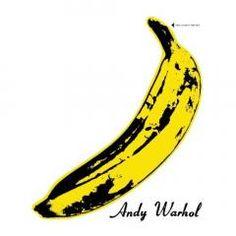 "The Velvet Underground & Nico. ""The Velvet Underground & Nico"". The Velvet Underground, Andy Warhol Banana, Pop Art Food, Andy Warhol Pop Art, Psychedelic Music, Pochette Album, Black Angels, Greatest Songs, Punk Rock"