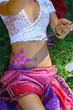Ethnic tribal print sarong  gypsy Bohemian crochet bikini top for a modern hippie style. For the BEST BoHo CHic fashion trends FOLLOW -- http://www.pinterest.com/happygolicky/the-best-boho-chic-fashion-bohemian-jewelry-gypsy-/ now.