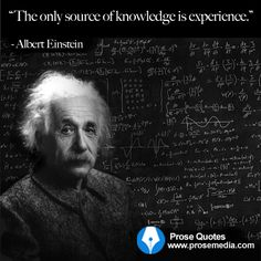 """Prose Quote""--by Albert Einstein.  ProseMedia.com is a custom writing service for brands. We write content worth sharing."
