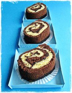 Little chocolate cake roll