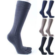 6Pairs Rich Cotton Ladies Women Five Fingers Toe Ankle Smiley Face Socks Size UK