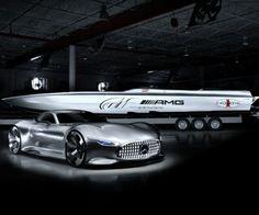 Mercedes-AMG und Cigarette arbeiten bereits im vierten Jahr in Folge zusammen. (Quelle: Hersteller)