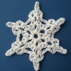 #Crochet Snowflake free pattern from Lucy of Attic24