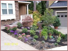 Ungodly Landscaped Front Yards Photos