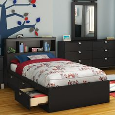 Found it at Wayfair - Spark Mate's Bed Box with Storage