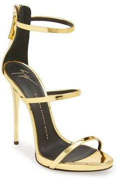 Giuseppe Zanotti 'Coline' Pointy Toe Sandal (Women) on shopstyle.com