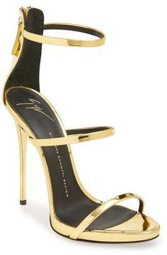 Giuseppe Zanotti 'Coline' Pointy Toe Sandal (Women) on shopstyle.com