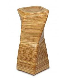 Banco em madeira infinito.