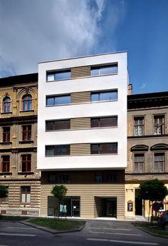 archiweb.cz  - Bytový dům Cihlářská 6