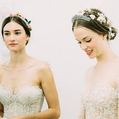Backstage At Reem Acra Fall 2015 Bridal Collection - http://www.dailywomanmag.com/wedding-ideas/backstage-at-reem-acra-fall-2015-bridal-collection.html