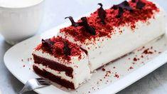 Red Velvet Cake: hrnkový recept na dezert z červené řepy Red Velvet, Ricotta, Tiramisu, Meals, Cooking, Ethnic Recipes, Food, Eten, Kitchen