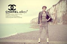 Chanel Ahoy, Fashion Editorial by Sandra Fourqui