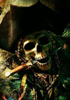 'Mr Tinegar, there's nothing wrong with your mind. Both you and Aunt Win are as sharp as'—Toby struggled for an image. His eyes alighted on a painting of a band of pirates fighting on deck surrounded by a stormy sea—'cutlasses!' he concluded. Pirate Art, Pirate Life, Pirate Theme, Pirate Ships, Pirate Skeleton, Totenkopf Tattoos, Pirates Cove, Images Gif, Nautical Tattoos