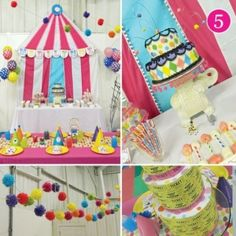 Circus Party by irenepo