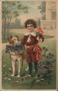 vintagepostcard.quenalbertini2: Valentine Card