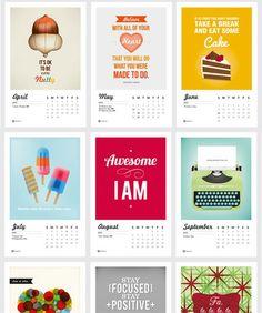 Tricia O Design Calendar