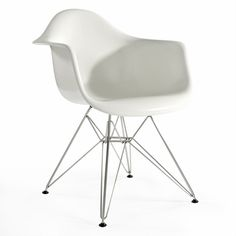 Molded Fiberglass Arm Chair - Click to enlarge
