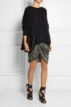 Isabel Marant   Anaid studded suede and leather sandals   NET-A-PORTER.COM