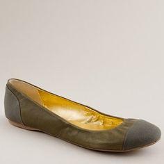 I pretty much wear Ballet Flats everyday. I'm too klutzy to wear heels!