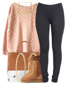 """""""nov. 29 2k14"""" by xo-beauty ❤ liked on Polyvore featuring Forever 21, Tory Burch, Roberta Chiarella, UGG Australia and NYDJ"""