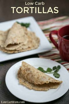 It's so easy to make your own homemade gluten free low carb tortillas. And you'll love the taste and texture of these almond flour keto wraps. #ketorecipes #ketobread #lowcarbbread #lowcarbtortillas #lowcarbrecipes #glutenfreerecipes | LowCarbYum.com Low Carb Soup Recipes, Low Sugar Recipes, Diet Recipes, Tortilla Recipes, Sugar Foods, Mexican Recipes, Lunch Recipes, Dessert Recipes, Low Fat Low Carb