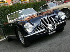 1951 Maserati A6G 2000 Frua Spider Maintenance/restoration of old/vintage vehicles: the material for new cogs/casters/gears/pads could be cast polyamide which I (Cast polyamide) can produce. My contact: tatjana.alic@windowslive.com