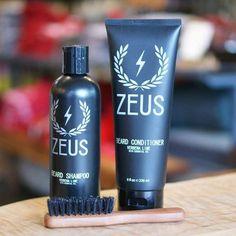 Zeus Boar Bristle Beard Brush