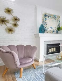ReadlyGo Vintage Shabby Chic, Accent Chairs, Modern, Furniture, Design, Home Decor, Upholstered Chairs, Trendy Tree, Decoration Home