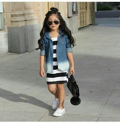 By far the most lovely pursuing newborn baby date clothes, see all the facts like pajamas, entire body fits, bibs, plus much more. Cute Little Girls Outfits, Little Kid Fashion, Cute Kids Fashion, Kids Outfits Girls, Tween Fashion, Toddler Girl Outfits, Baby Girl Dresses, School Fashion, Baby Girl Fashion