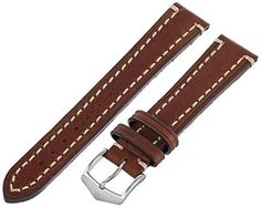 Hirsch 109002-10-18 18 -mm  Genuine Calfskin Watch Strap -- You can find out more details at the link of the image.