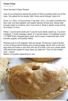 An easy Traditional Cornish Pasty Recipe - simple ingredients, big flavour! An easy Traditional Cornish Pasty Recipe - simple ingredients, big flavour! Pasty Recipe Upper Peninsula, Pasty Recipe Michigan, Meat Recipes, Cooking Recipes, Sandwich Recipes, Recipies, Cornish Pasties, Savory Pastry, Beef Dishes