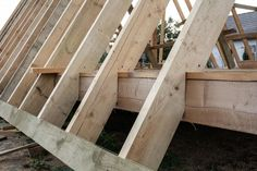 Construction Of Frame House Parts Stock Image - Image of plank, house: 125107151 Small Log Cabin, Tiny House Cabin, Tiny House Design, Cabin Homes, Modern House Design, A Frame House Kits, Wood Frame House, A Frame Cabin Plans, Triangle House