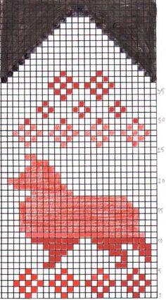 Photo Knitted Mittens Pattern, Knit Mittens, Knitted Gloves, Knitting Socks, Hand Knitting, Knitting Charts, Knitting Stitches, Knitting Patterns, Crochet Patterns