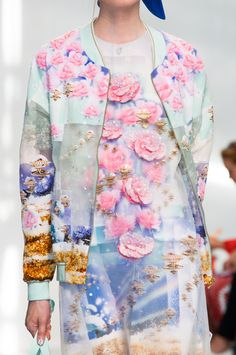 Detail at Manish Arora Spring Summer 2015 | PFW