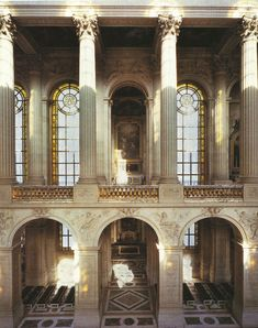 Chaple in the Palace of Versailles