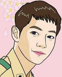 227 Best Descendants Of The Sun Fanart Images Song Hye Kyo Drama